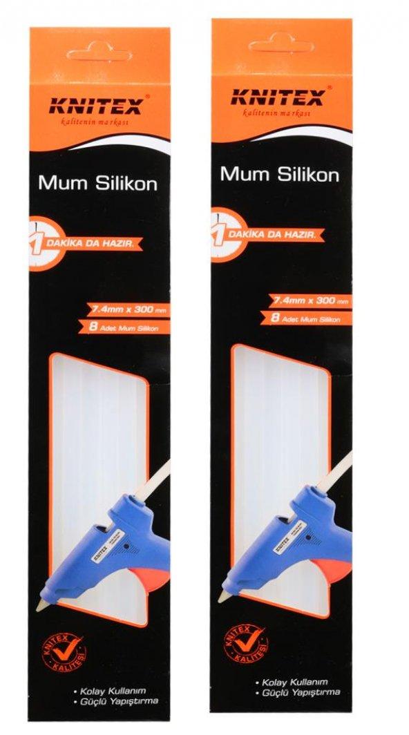 Knitex Mum Silikon Ince 7.4mmX300mm 8li