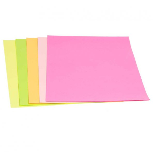 Puti A4 Fosforlu Renkli Fotokopi Kagidi 100lü
