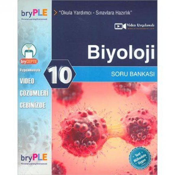 Birey PLE 10.Sınıf Biyoloji Soru Bankası