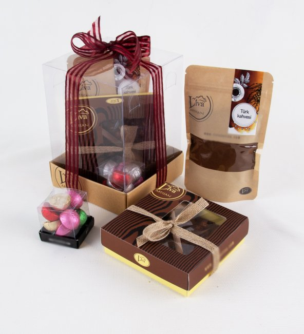 Liva Fındık Çikolatin Çikolata Küp Kutu Serisi