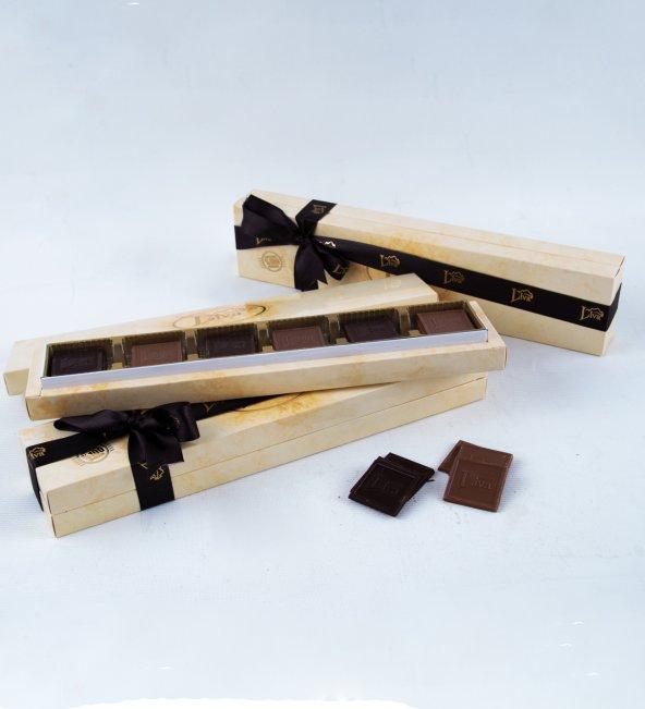 Liva  Madlen Çikolata Kravat Kutu