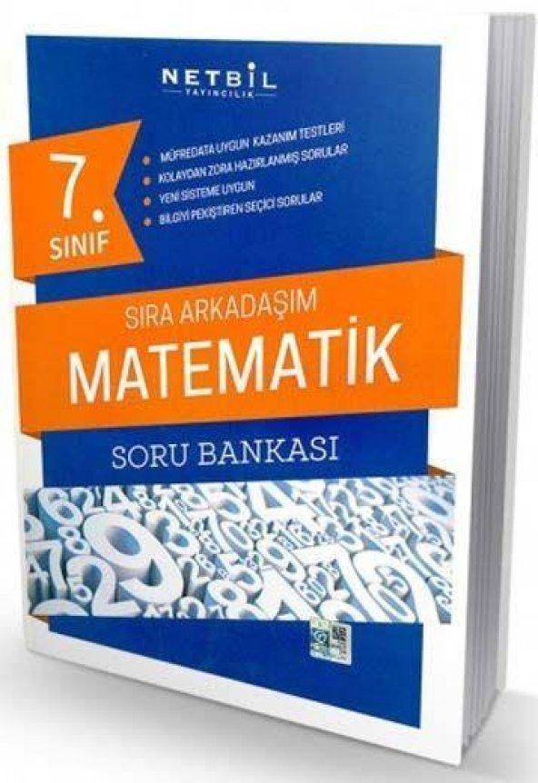 Netbil 7. Sınıf Sıra Arkadaşım Matematik Soru Bankası