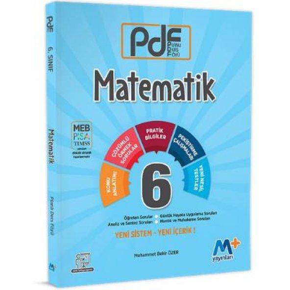 M+ Martı Okul 6. Sınıf Matematik PDF Konu Anlatımlı 2019