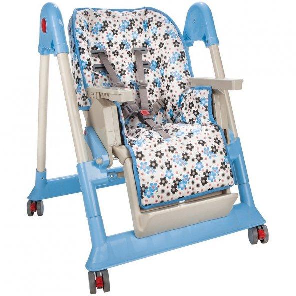 Pilsan Mama Sandalyesi Mavi BJ-2107517M