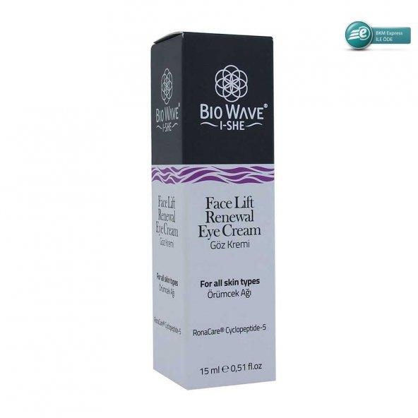 Bio Wave Face Lift Renewal Eye Cream 15 ml - Örümcek Ağı Göz Krem