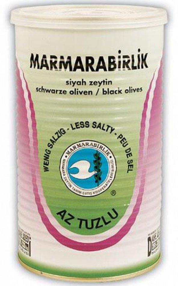 Marmarabirlik Az Tuzlu 800 gr S 291- 320 Siyah Zeytin