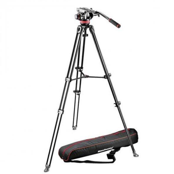 Manfrotto MVH502AH Pro Video Head Flat Base - M