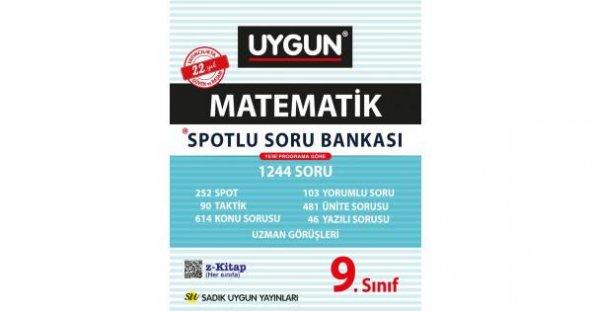 Sadık Uygun Yayınları Matematik Spotlu Soru Bankası 9. Sınıf