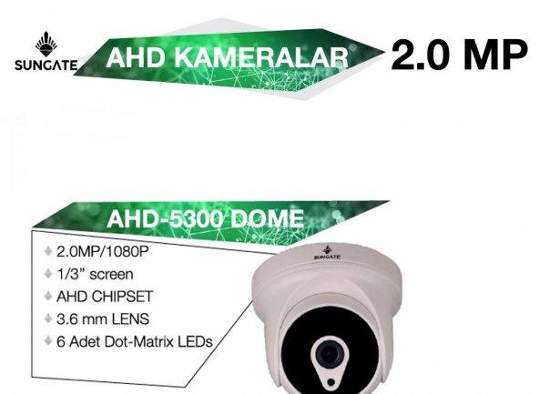 SUNGATE AHD-5300 DOME 2.0 MP AHD KAMERA