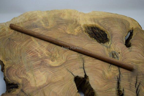 Merbau Ağacı Tesbihlik Çıta Yuvarlanmış 10mm