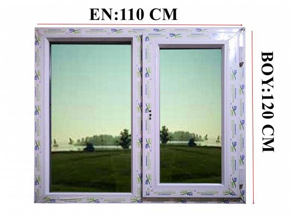 110X120 Pvc Pencere ISICAMLI