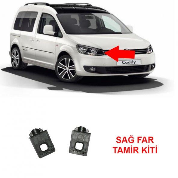 Volkswagen CADDY 3 SAĞ Far Tamir Kiti Plastiği Ayağı