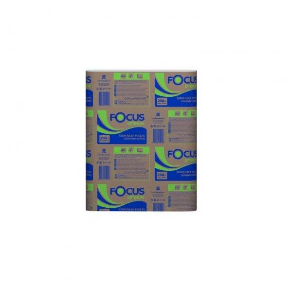 Focus Optimum Dispenser Peçete 18x24 Cm 250li 18 Paket 4500lü
