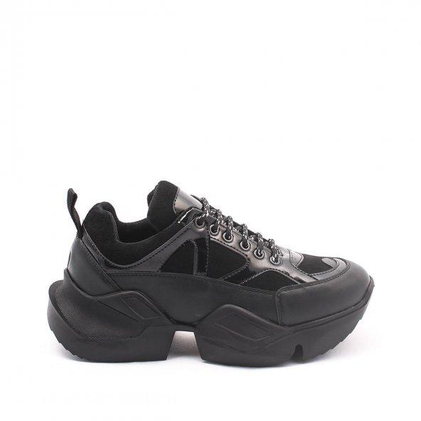 Riley Kadın Spor Ayakkabı - Siyah