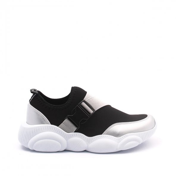 Kelsey Kadın Spor Ayakkabı - Siyah, Gri