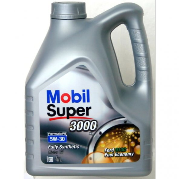 Mobil Super 3000 Formula FE 5W-30 4 lt Motor Yağı