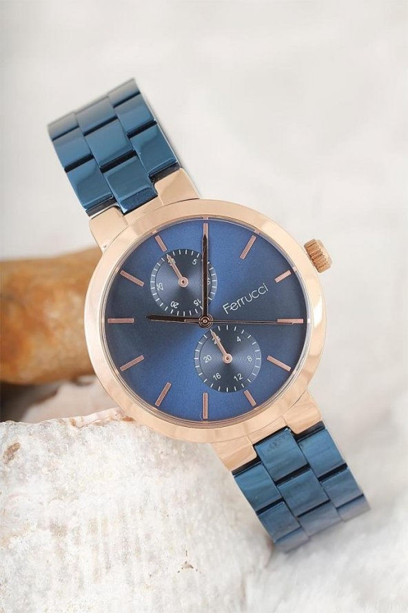 Ferrucci 2 Yıl Garantili Bayan Saat