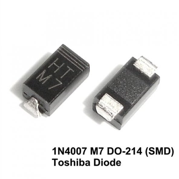 1N 4007SMD M7 DİOD ( 1A 1000V ) (5000 ADET)