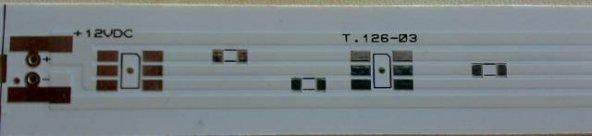 3 Chip Tek renk Pcbsi (T 126-03) 50x1,6cm