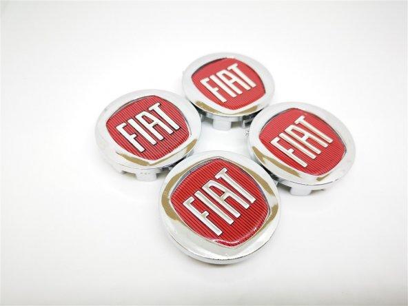 Fiat Kırmızı 43mm Jant Göbek Kapağı