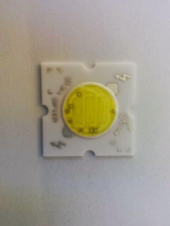 Beyaz 5 Watt 220 Volt Üstten Bağlantılı Powerled