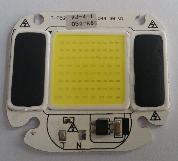 Beyaz 50 Watt AC 220 Volt Powerled