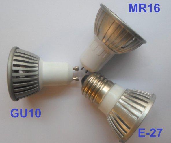 MR-16 Duylu 3 Watt Powerled Ampul Kasası