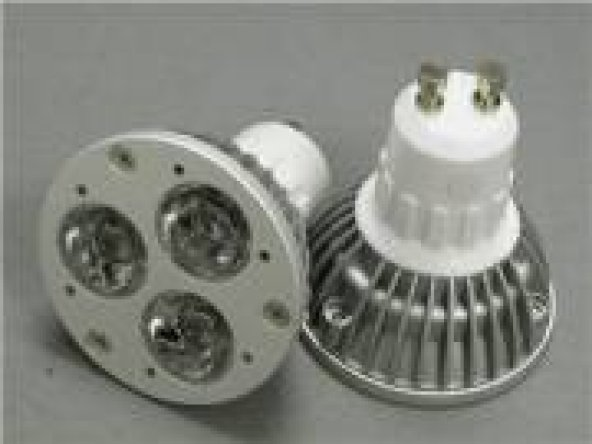 Natural Beyaz 3 Watt Powerledli Ampul Gu10