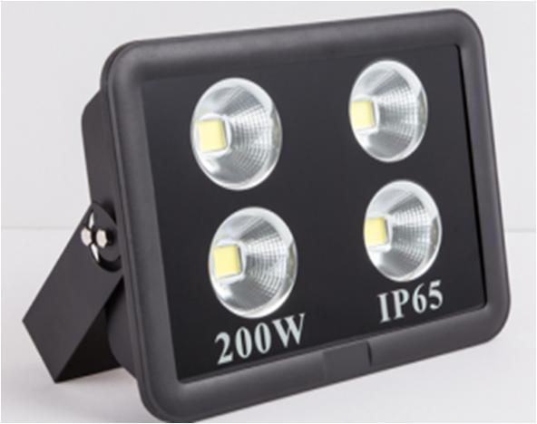 PJ-1102 200 Watt Cob Ledli Projektör Mavi - 220 Volt