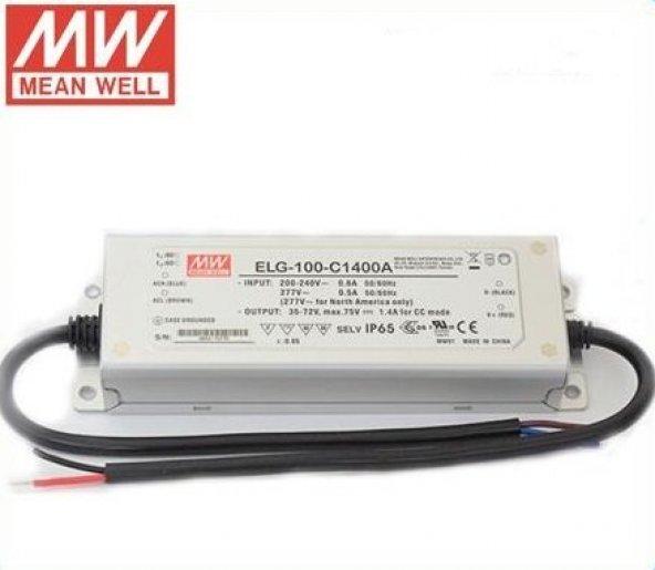 Meanwell 75W 1400mA 27-54V Adaptör ELG-75-C1400A