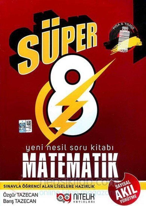 Nitelik 8. Sınıf Matematik Yeni Nesil Soru Kitabı