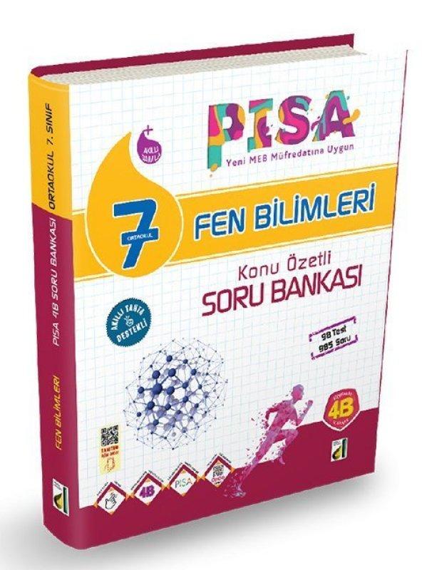 Damla 7. Sınıf Fen Bilimleri PISA 4B Soru Bankası