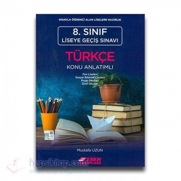 Esen 8. Sınıf LGS Türkçe Konu Anlatımlı