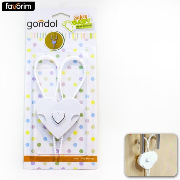 Gondol G-90908 Kalpli Dolap Mandalı