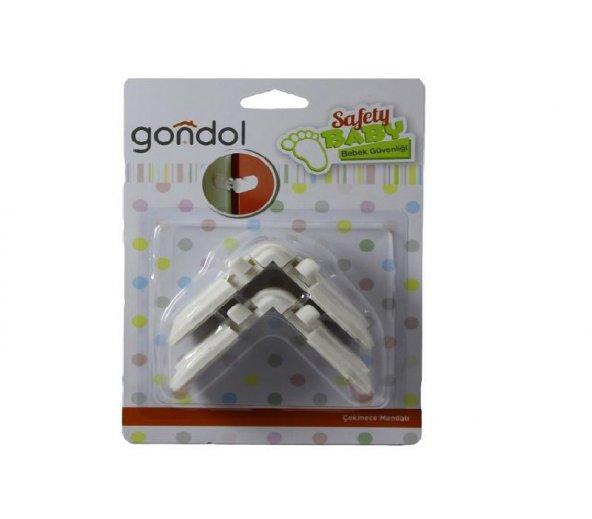 Gondol Çekmece Mandalı G-90909 Beyaz