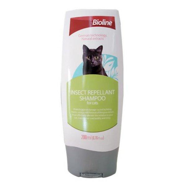 Bioline Asalak Uzaklaştırıcı Kedi Şampuanı 200 ml