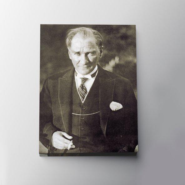 Atatürk Portresi Kanvas Tablo - Ofis & Ev - Her Mekana Uygun
