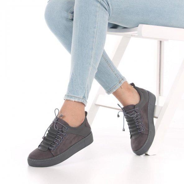 Nigra Kadın Spor Ayakkabı Süet