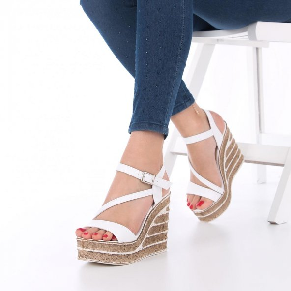 Candy Dolgu Topuklu Ayakkabı