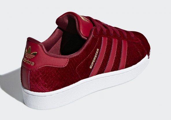 ADİDAS SUPERSTAR W Kadın  Ayakkabı Günlük B41512 (Beden: 40)