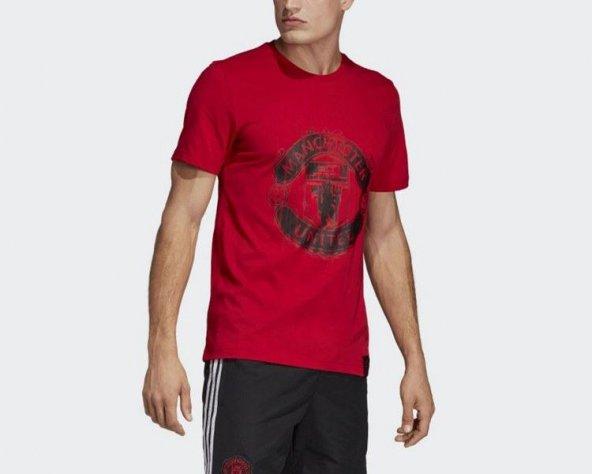 ADİDAS MUFC DNA GR TEE Erkek  Giyim Tişört DP2332 (Beden: M)