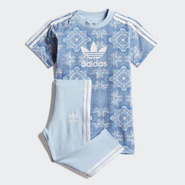 ADİDAS CC TEE SET Bebek  Giyim Eşofman Takımı DV2327 (Beden: 9-12 ay)