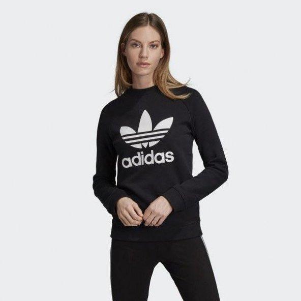 ADİDAS TRF CREW SWEAT Kadın  Giyim Sweatshirts DV2612 (Beden: 38)