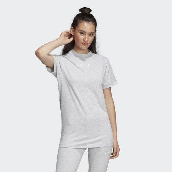 ADİDAS Coeeze T SHIRT Kadın  Giyim Tişört DU7191 (Beden: 34)