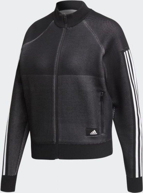 ADİDAS W Id Knit Trtop Kadın  Giyim Sweatshirts DP3912 (Beden: L)