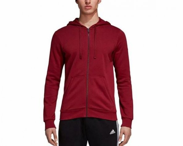 ADİDAS ESS BASE FZ SLB Erkek  Giyim Sweatshirt CZ5980 (Beden: S)