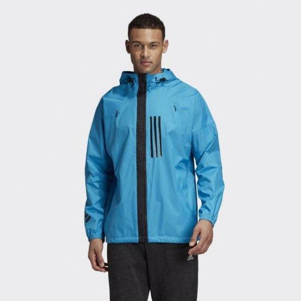 ADİDAS M adidas W.N.D. Erkek  Giyim Yağmurluk  Rüzgarlık DZ0050 (Beden: XS)