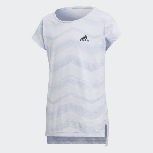ADİDAS YG ID AOP TEE Çocuk  Giyim Tişört CF6746 (Beden: 7-8 yaş)