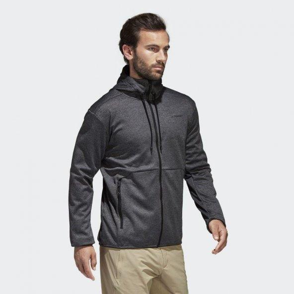 ADİDAS CTC Ho Fl Jkt Erkek  Giyim Sweatshirt CF4701 (Beden: 44)
