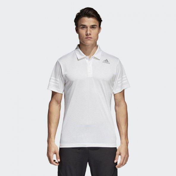 ADİDAS Climacool Polo Erkek  Giyim Tişört CW3931 (Beden: M)